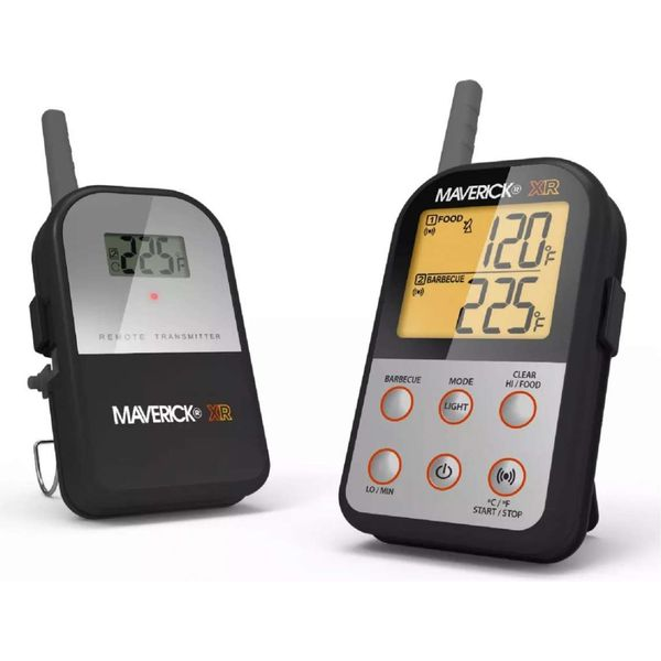 Maverick XR-30 Wireless Barbecue Thermometer Grillthermometer Funkthermometer Schwarz